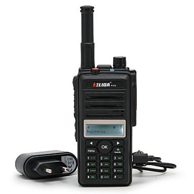 elida® cd880 2g 3g gsm wcdma wifi walkie talkie sa sim karticom GPS pozicioniranje dvosmjerna radio mreža radio walkie talkie 200 km