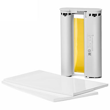 preiswerte Fotopapier-xiaomi fotopapier 40 stücke und ersatzband für xiaomi mijia home foto drucker