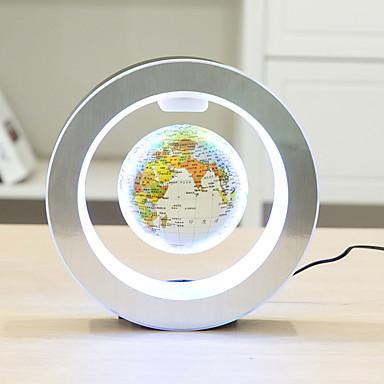 novitet okrugli vodio kartu svijeta plutajući globus magnetska levitacija svjetlo antigravitacijske magije / nove lampe