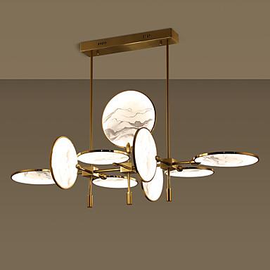 ZHISHU 9-Light Geometrijski / Noviteti Lusteri Ambient Light Slikano završi Metal Glass Kreativan, New Design 110-120V / 220-240V