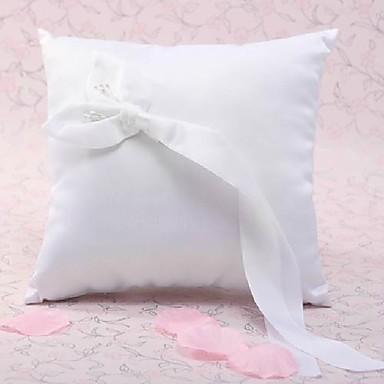 Silk Like Satin Akril Diamond / Cvijet od satena Saten ring pillow Vjenčanje Sva doba