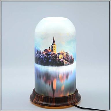 qingyuan umjetničke prirodne serije moderne suvremene kreativne novi dizajn stol svjetiljka za unutarnju spavaću sobu studija akril 85-265v