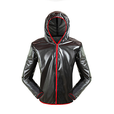 povoljno Motori i quadovi-motocikl vodootporan unisex trkaći kišni kaput ultra tanki prozračna prijenosna odjeća za odjeću