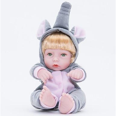 FeelWind Autentične bebe Djevojka lutka Za ženske bebe 12 inch Cijeli silikon tijela Silikon Vinil - vjeran Ručno Izrađen Slatko Sigurno za djecu Djeca / Teen Non Toxic Dječjom Uniseks Igračke za