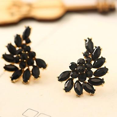 levne Dámské šperky-Dámské Visací náušnice Marquise Andělská křídla Jednoduchý Vintage Evropský Pryskyřice Náušnice Šperky Černá Pro Ležérní Denní 1 Pair