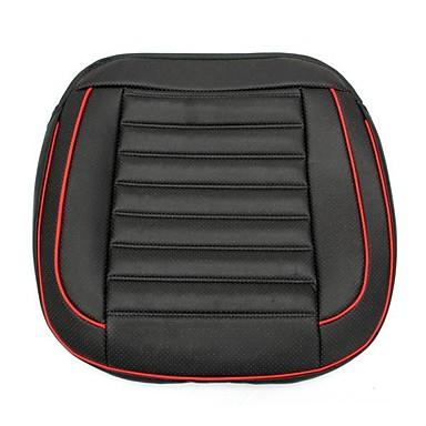 50x52cm pu koža heljda školjka punjenje auto jastuk stolica auto sjedalo poklopac auto unutrašnjosti jastučić tepih