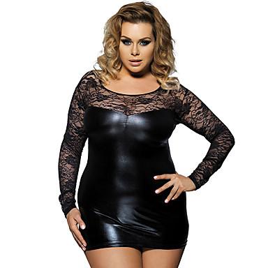 81b4ff1b8620 Γυναικεία Μεγάλα Μεγέθη Sexy Μπέιμπι-ντολ   Σλιπ   Ρόμπα Πυτζάμες -  Δαντέλα