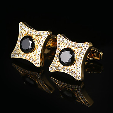 Mandzsettagombok Moda Elegantno Broš Jewelry Zlatan Za Vjenčanje Formalan
