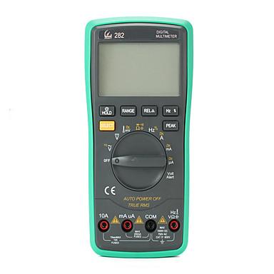 voordelige Test-, meet- & inspectieapparatuur-zeast 282 digitale multimeter 20000counts true rms 4 1/2 auto bereik voltmeter stroom ohm weerstand diode temperatuur continuïteit