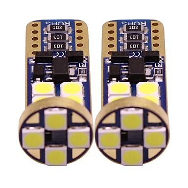2pcs T10 Motor / Automobil Žarulje 1 W SMD 3528 200 lm 12 LED Žmigavac svjetlo / Svjetla u unutrašnjosti / Svjetla bočnih markera Za Univerzális Sve godine