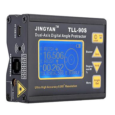 levne Vodováhy-Factory OEM TLL-90S # Laserový snímač vzdálenosti LED světlo / Více nabíjecích režimů / Snadné používání pro technické měření