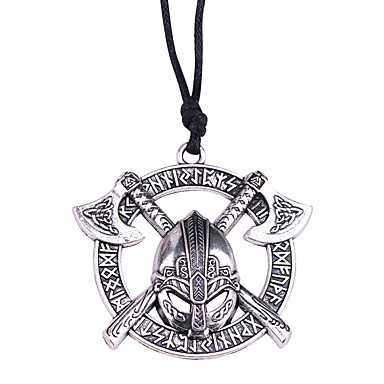collier homme pirate