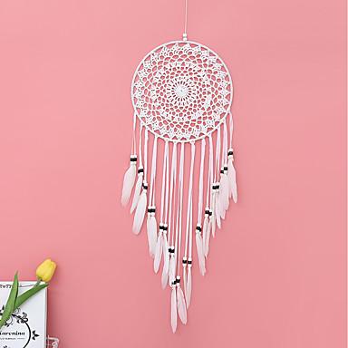 ručno izrađivani lovci na snove s ukrasima za tradicionalne zidne zastore