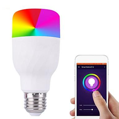 7w e27 b22 wifi glas contro led žarulja rgb ušteda energije zatamnjenje boja pametne žarulje kompatibilan alexa google dropshipping