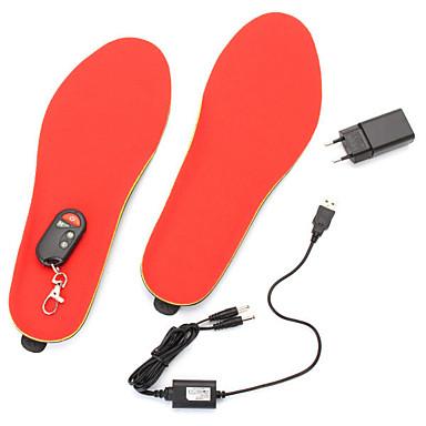 povoljno Motori i quadovi-3.7v 1200mah električni grijani cipele ulošci stopala toplije grijač noge baterija tople čarape ski boot