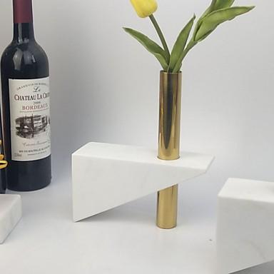 preiswerte Kerzen & Kerzenhalter-Moderne zeitgenössische Keramik / Edelstahl Kerzenhalters Kerzenhalter 1pc, Kerze / Kerzenhalter