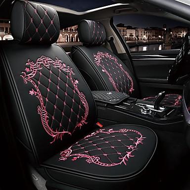 levne Doplňky do interiéru-čtyři sezóny obecné karikatura koruna design autopotahy pro pětimístné auto / pu kůže / airbag kompatibilní / nastavitelné a odnímatelné / rodinné auto / suv