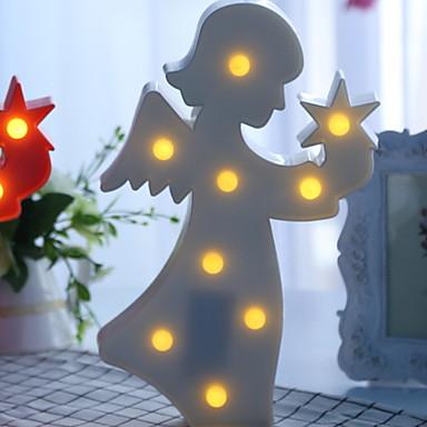 1pc LED noćno svjetlo Toplo bijelo Kreativan <5 V