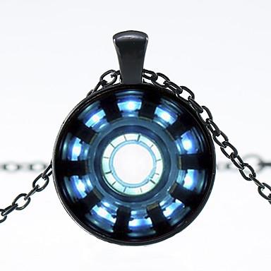 povoljno Modne ogrlice-Muškarci Ogrlice s privjeskom Crtani pomodan Moda Reciklirani papir Krom Zlato Crn Pink 50+5 cm Ogrlice Jewelry 1pc Za Ulica Izlasci