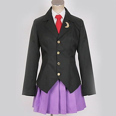 Inspirirana Cosplay Cosplay Anime Cosplay nošnje Japanski Cosplay Suits Uglađeni / Suvremeno Kaput / Bluza / Suknja Za Muškarci / Žene