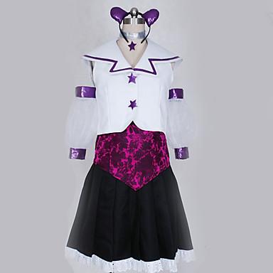 Inspirirana Cosplay Cosplay Anime Cosplay nošnje Japanski Cosplay Suits Uglađeni Top / Suknja / More Accessories Za Muškarci / Žene