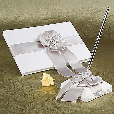 Knjiga gostiju / Set olovaka Vjenčanje S Crystal / Rhinestone / Nabrano Knjiga gostiju / Set olovaka