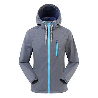 f7cefad53 SUMMITGLORY® Men s Hiking Softshell Jacket Outdoor Winter Windproof Rain  Waterproof Jacket N   A Casual Outdoor Exercise Navy Blue   Dark Grey  7139370 2019 ...