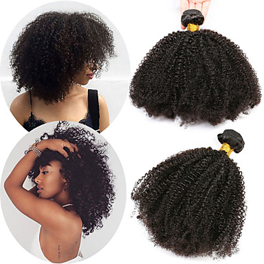 Extensions curly afro hair