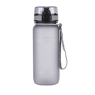 billige Sykkeltilbehør-UZSPACE® vannkoker Vannflasker 650 ml PP PC Matbokser Bærbar Kul til Reise Backcountry Utendørs Grønn Grå Fuksia Marineblå