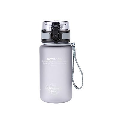 billige Sykkeltilbehør-UZSPACE® vannkoker Vannflasker 350 ml PP PC Matbokser Bærbar Kul til Reise Backcountry Utendørs Grønn Grå Fuksia Marineblå