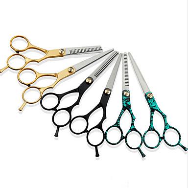 povoljno Ekstenzije za kosu-Alati za stiliziranje kose Tikovina Dodatne opreme Škare Najbolja kvaliteta 2pcs Dnevno Jednostavan Zlatan Plava Crna