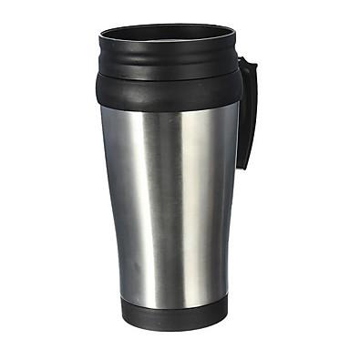 voordelige Auto-interieur accessoires-roestvrij staal thermos abs mok reismotor koffiekanbeker theekop