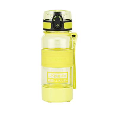 billige Sykkeltilbehør-UZSPACE® vannkoker Vannflasker 330 ml PP PC Matbokser Bærbar Kul til Reise Backcountry Utendørs Lilla Grå Fuksia Oransje Gul