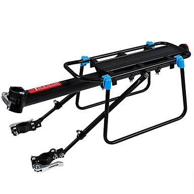 billige Sykkeltilbehør-Bike Cargo Rack Maks Lasting 50 kg Justerbare / Uttrekkbar Hurtigmonterbart bagasjebrett Fort Frigjøring Aluminum Alloy Vei Sykkel Fjellsykkel - Svart Svart / Blå