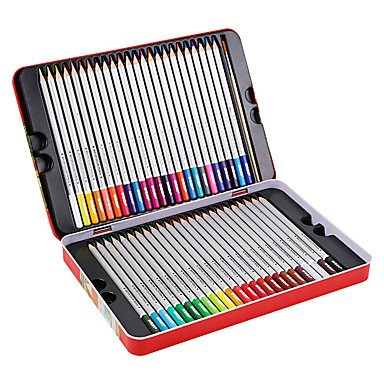 cheap Stationery Supplies-1 pcs 48 Colors M&G AWPQ1904 Watersoluble Colored Pencil Wood