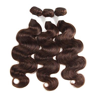 povoljno Ekstenzije od ljudske kose-3 paketa Brazilska kosa Tijelo Wave Remy kosa Ekstenzije od ljudske kose 10-26 inch Isprepliće ljudske kose Nježno Najbolja kvaliteta Novi Dolazak Proširenja ljudske kose
