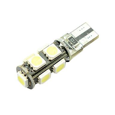 billige Automotiv-1 Deler T10 / W5W Bil Elpærer 7 W SMD 5050 9 LED Blinklys / Side Marker Lights / Bremselys Til Alle år