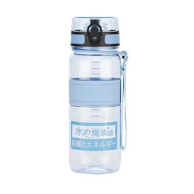 billige Sykkeltilbehør-UZSPACE® vannkoker Vannflasker 650 ml PP PC Matbokser Bærbar Kul til Reise Backcountry Utendørs Grønn Lilla Fuksia Oransje Marineblå