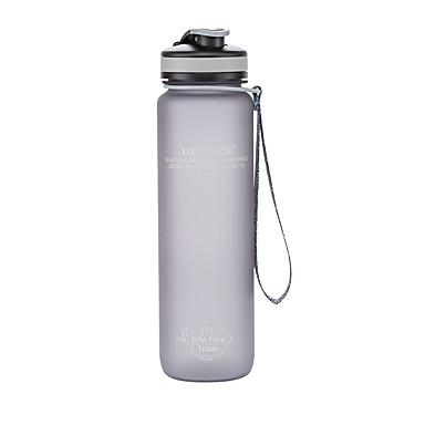 billige Sykkeltilbehør-UZSPACE® vannkoker Vannflasker 1000 ml PP PC Matbokser Bærbar Kul til Reise Backcountry Utendørs Grønn Grå Fuksia Marineblå