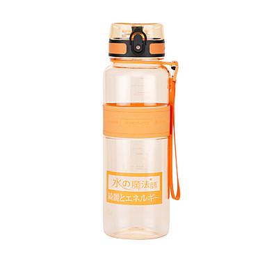 billige Sykkeltilbehør-UZSPACE® vannkoker Vannflasker 1000 ml PP PC Matbokser Bærbar Kul til Reise Backcountry Utendørs Grønn Lilla Fuksia Oransje Marineblå