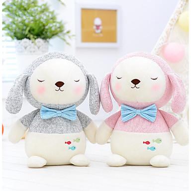 levne Pluszowe zwierzęta-Metoo Rabbit Psi Pluszowe zwierzęta Zvířata Roztomilý Netkané textilie Bavlna Vše Hračky Dárek 1 pcs