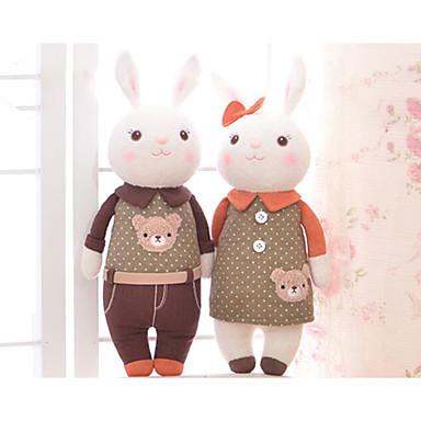 levne Pluszowe zwierzęta-Metoo Rabbit Pluszowe zwierzęta Zvířata Roztomilý Netkané textilie Bavlna Vše Hračky Dárek 1 pcs