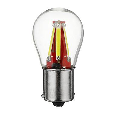 preiswerte Auto Lampen-1 Stück BA15S (1156) Auto Leuchtbirnen COB 4 LED Tagfahrlicht / Blinkleuchte / Bremslichter Für Universal Alle Jahre