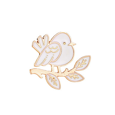 levne Dámské šperky-Dámské Brože Klasika Ptáček Běžné / Denní Módní Brož Šperky Zlatá Pro Dar Denní Narozeniny