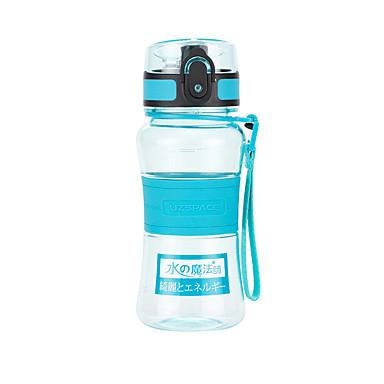 billige Sykkeltilbehør-UZSPACE® vannkoker Vannflasker 350 ml PP PC Matbokser Bærbar Kul til Reise Backcountry Utendørs Grønn Lilla Fuksia Oransje Marineblå