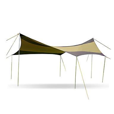 cheap Sleeping Bags & Camp Bedding-Hewolf Picnic Pad Picnic Blanket Tent Tarps Outdoor Portable Sunscreen Rain Waterproof water-resistant Oxford Cloth PE 500*500*250 cm Camping / Hiking Camping Camping / Hiking / Caving All Seasons