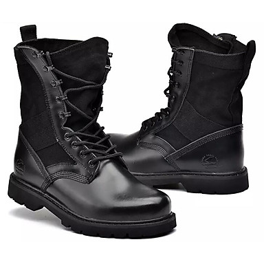 587b6c8d75a Homens Sapatos Confortáveis Sintéticos Inverno Botas Botas Cano Médio Preto  de 7128920 2019 por  64.99