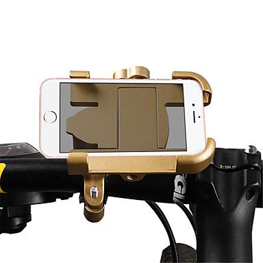 billige Sykkeltilbehør-WEST BIKING® Telefonstativ til sykkel Skliresistent Enkel å installere Anti-Sjokk til Vei Sykkel Fjellsykkel Aluminiumslegering iPhone X iPhone XS iPhone XR Sykling Sølv Rød Blå