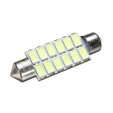 billige Automotiv-1 Deler Festong Bil Elpærer 1.6 W SMD 5630 240~300 lm 12 LED Dagkjøringslys / Lisensplatelampe / Blinklys Til Alle år