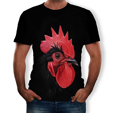 Poklade Cosplay T-majica Poly / Cotton Noviteti Za Uniseks